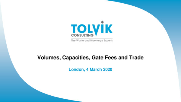 Volumes, capacities, gate fees, and trade