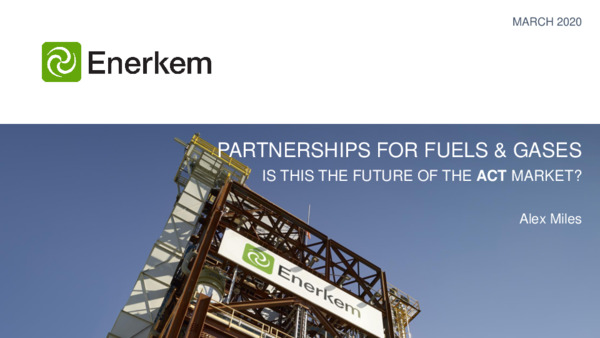 Partnerships for fuels and gases – is this the future of the ACT market?