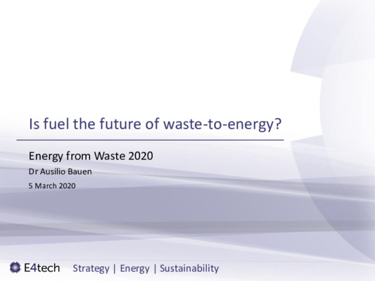 Carbon neutral by 2050: is fuel the future of waste-to-energy?
