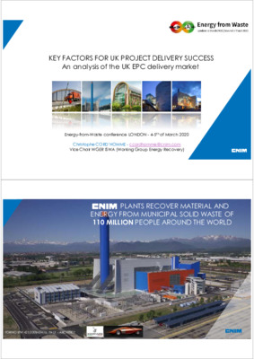 Key factors for UK project delivery success: an analysis of the UK EPC delivery market