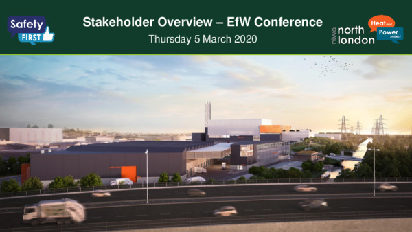 Stakeholder overview - North London Waste Authority