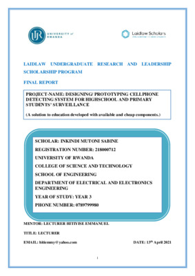Part II: Simulation and Implementation_Final Report