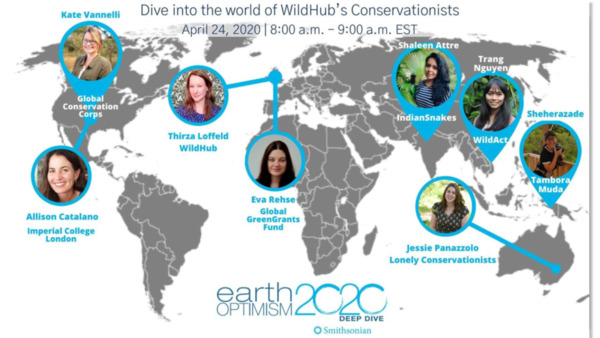 Presentation Slides: Dive into the world of WildHub's conservationists