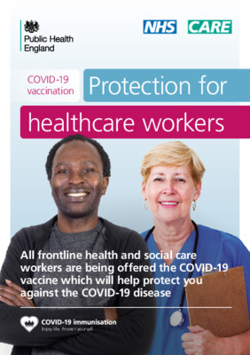 COVID-19 vaccination: guide for healthcare workers – updated