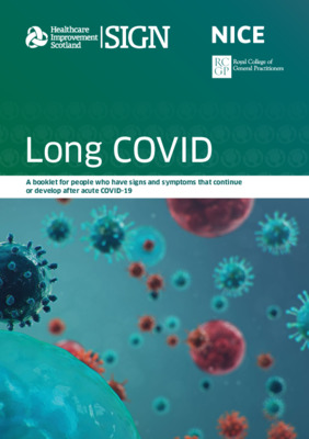 Patient booklet - long COVID
