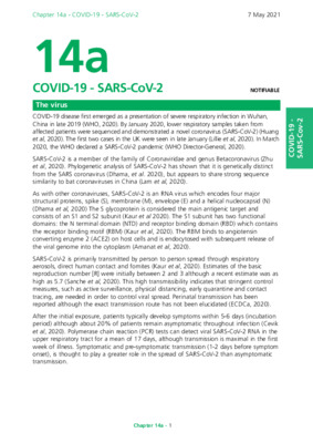 Green Book chapter on COVID-19 updated (v9)