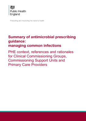 Managing common infections: guidance for primary care updated