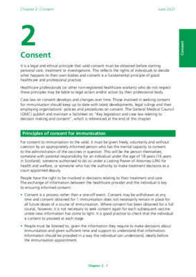 Green book chapter 2 on consent updated