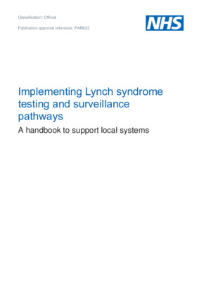 Implementing Lynch syndrome testing and surveillance pathways