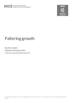 Faltering growth