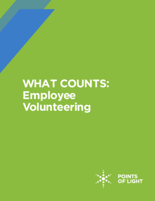 When it comes to employee volunteering...what counts?