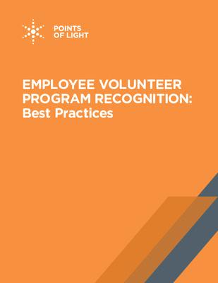 Best Practices for Employee Volunteer Recognition