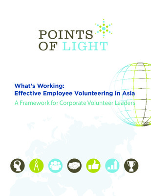 What's Working: Effective Employee Volunteering in Asia