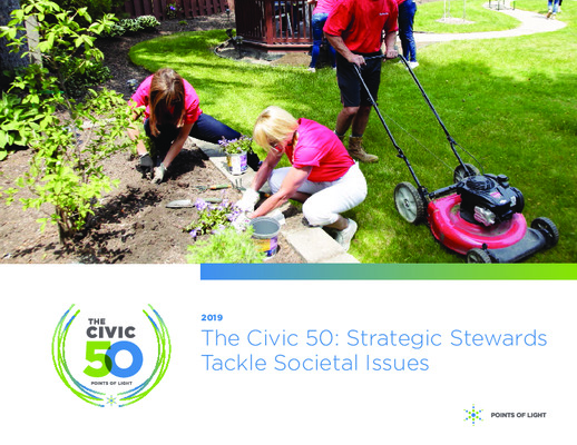 The Civic 50 Report: 2019