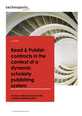 Read and Publish Contracts in the Context of a Dynamic Scholarly Publishing System | Annemieke van Barneveld-Biesma et al. |  Technopolis Group, July 2020