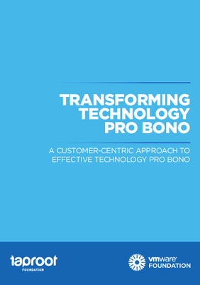 Taproot Foundation: Transforming Technology Pro Bono