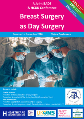 Breast Surgery as Day Surgery