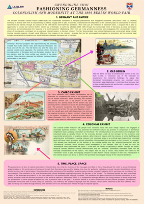 Fashioning Germanness Research Poster
