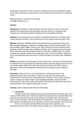 Corticosteroid Intervention on EVALI Patients 15-30_Marika Schenkels