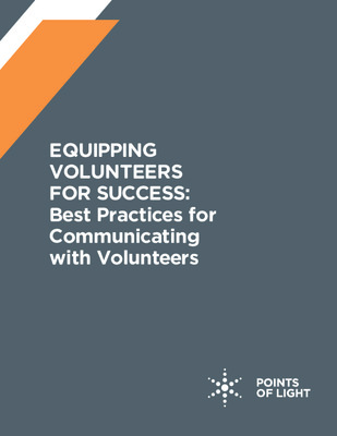 Equipping Volunteers for Success: Best Practices for Communicating With Volunteers