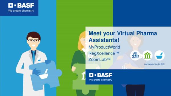 BASF Virtual Pharma Assistants Introduction