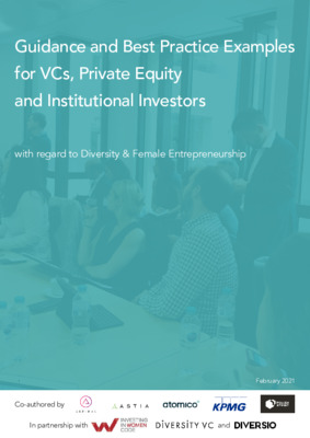 Guidance and Best Practice Examples for VCs, Private Equity and Institutional Investors