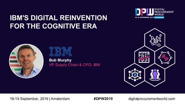 IBM's Digital Reinvention For The Cognitive Era