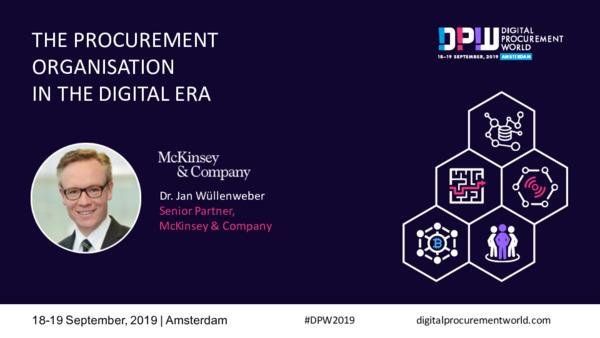 Mckinsey: The Procurement Organisation in the Digital Era