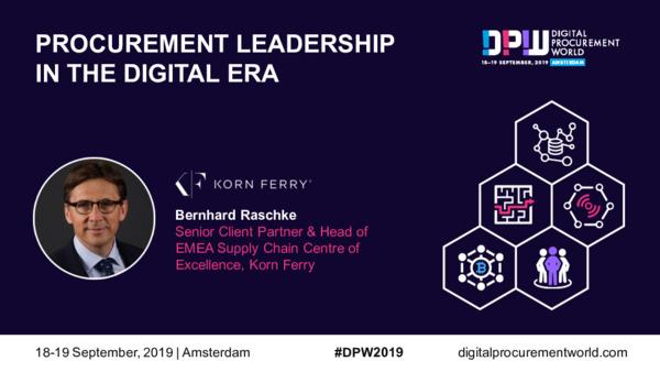 Procurement Leadership in the Digital Era