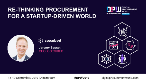Re-Thinking Procurement For a Startup-Driven World