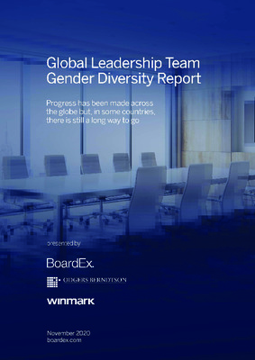 Global Leadership Team Gender Diversity Report