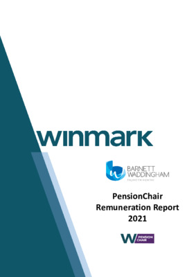 The 2021 PensionChair Remuneration Report