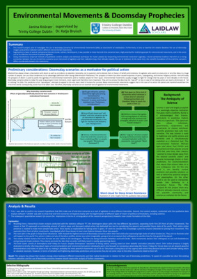 Research Poster: Environmental Movements & Doomsday Prophecies