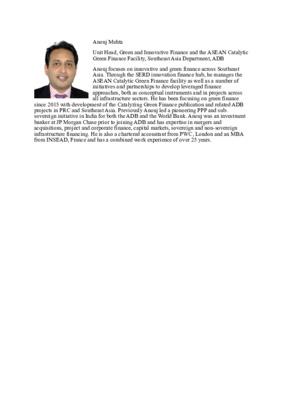 Panelist: Anouj Mehta