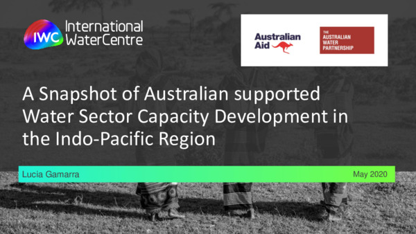 Lucia Gamarra - A Snapshot of Australian supported water sector CD