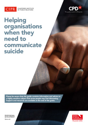 CIPR and IOIC guide to communicating suicide