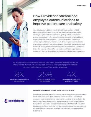 Providence Health Case Study
