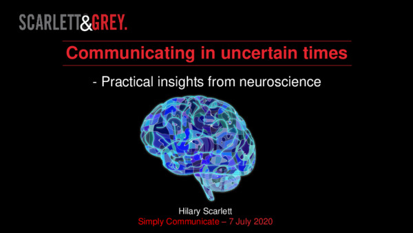 Practical insights from neuroscience