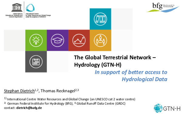 The Global Terrestrial Network - Hydrology (GTN-H)