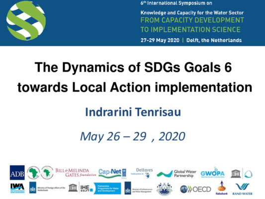 The Dynamics of SDGs Goals 6 towards Local Action Implementation