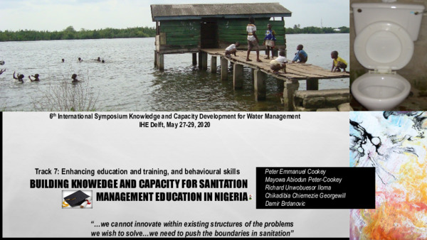 BUILDING KNOWLEDGE AND CAPACITY FOR SANITATION MANAGEMENT EDUCATION IN NIGERIA