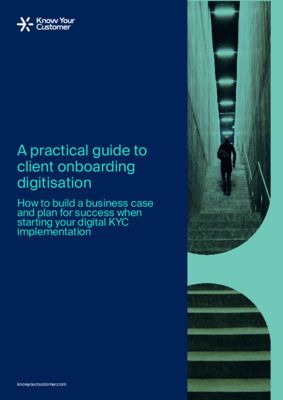 A practical guide to client onboarding digitisation