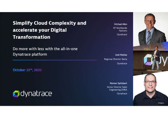Simplifying cloud complexity and accelerating your digital transformation