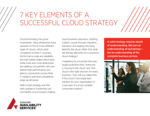 7 Key Elements Cloud Strategy Whitepaper