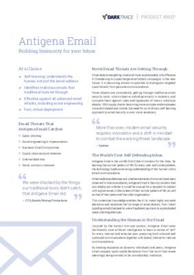 Antigena Email