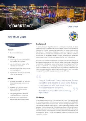Case Study: City of Las Vegas