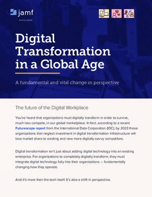 Digital Transformation In a Global Age- Whitepaper