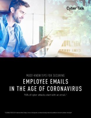 Coronavirus Email Security