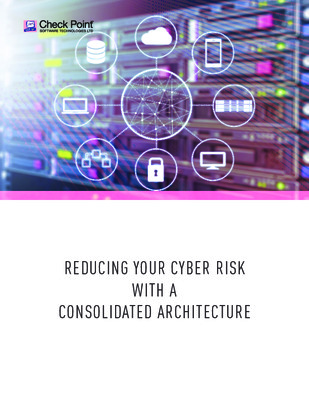 Reducing your cyber risk with a consolidated architecture