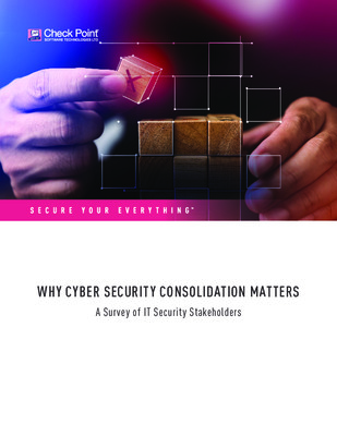Why Cyber Security consolidation matters I A survey of IT Security Stakeholders